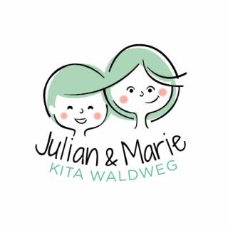 Logo: Julian & Marie Kita Waldweg